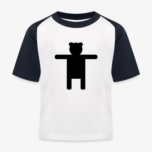 Ippis Entertainment, Black - Lasten pesäpallo  -t-paita
