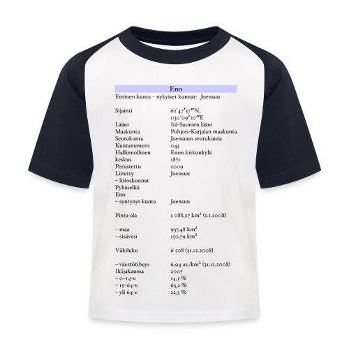 Tilastollinen Eno - Lasten pesäpallo  -t-paita