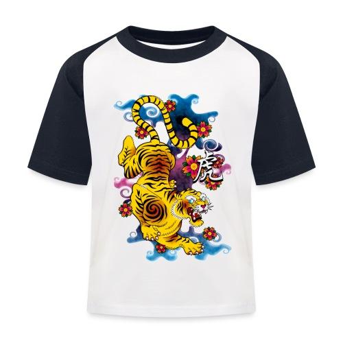 Japanese Tiger - Tattoo design - T-shirt baseball Enfant