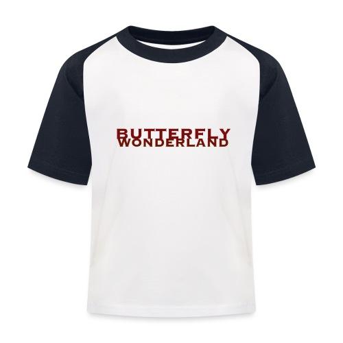 Butterfly Wonderland - Kinder Baseball T-Shirt