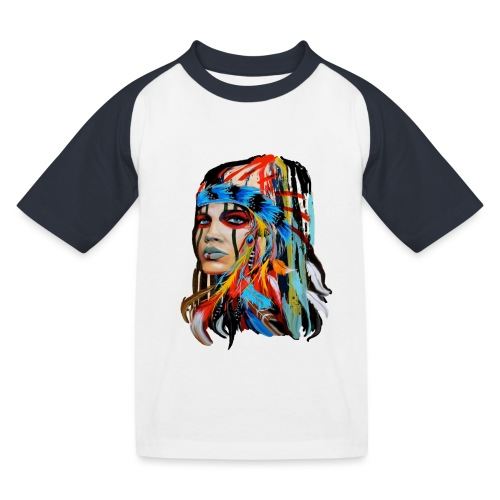Pióra i pióropusze - Koszulka bejsbolowa dziecięca