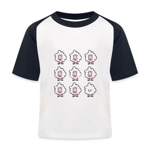 I will never follow! - Kids' Baseball T-Shirt