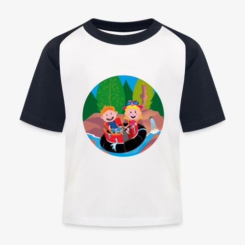 Themepark: Rapids - Kinderen baseball T-shirt