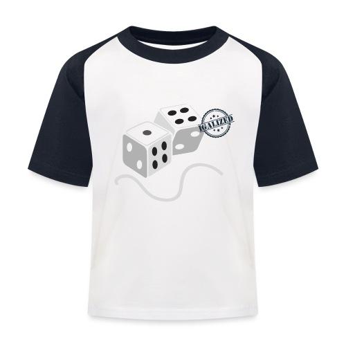 Dice - Symbols of Happiness - Kids' Baseball T-Shirt