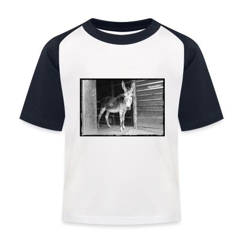 Zickenstube Esel - Kinder Baseball T-Shirt