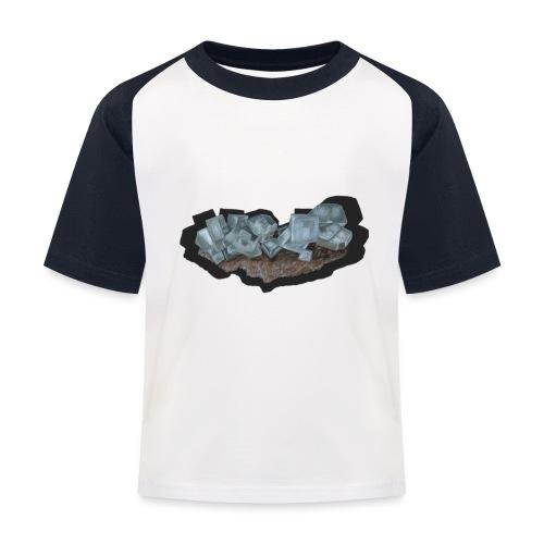 Halit-Kristallstufe - Kinder Baseball T-Shirt
