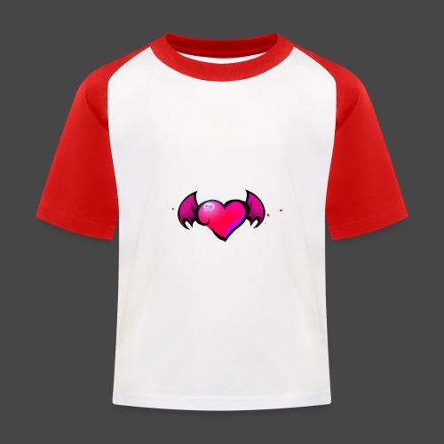 Logo and name - Kids' Baseball T-Shirt