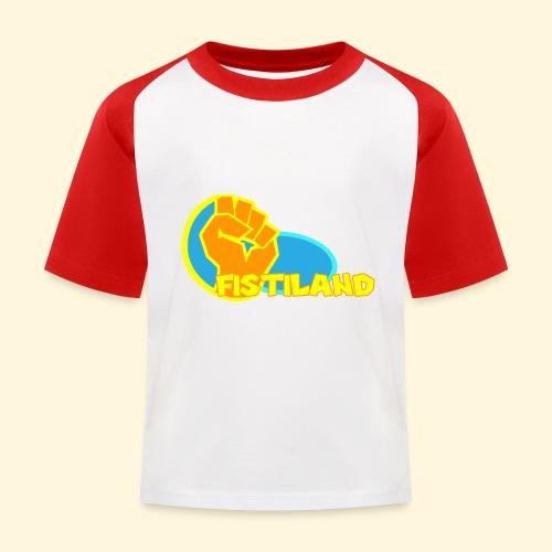 FISTILAND en couleur - T-shirt baseball Enfant
