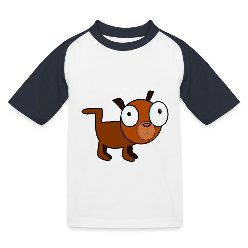 dog dawg animal 1979px png - Kinderen baseball T-shirt