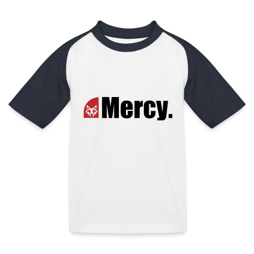 Mercy. - Kinder Baseball T-Shirt