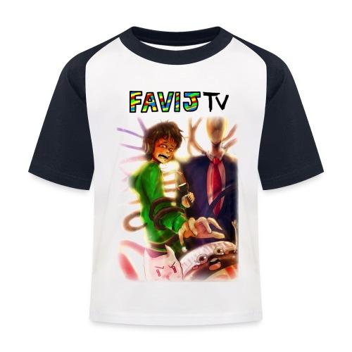 ShirtFinale png - Maglietta da baseball per bambini