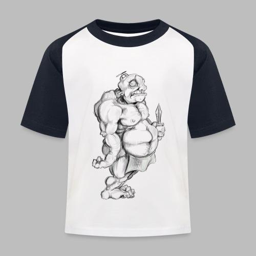 Big man - Kinder Baseball T-Shirt