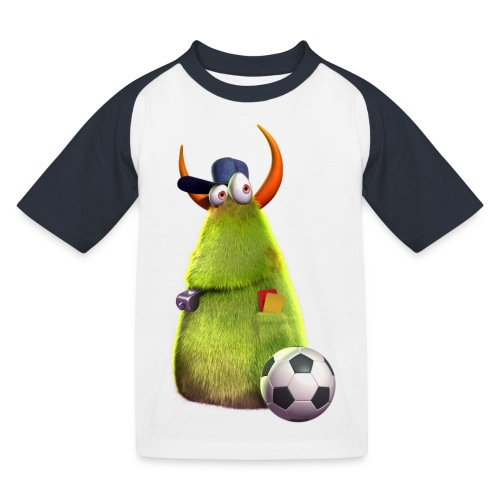 kids concept6 referee2 Spreadshirt png - Kinder Baseball T-Shirt