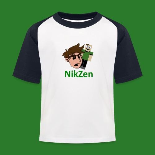 NikZen desegen - Baseball T-shirt til børn