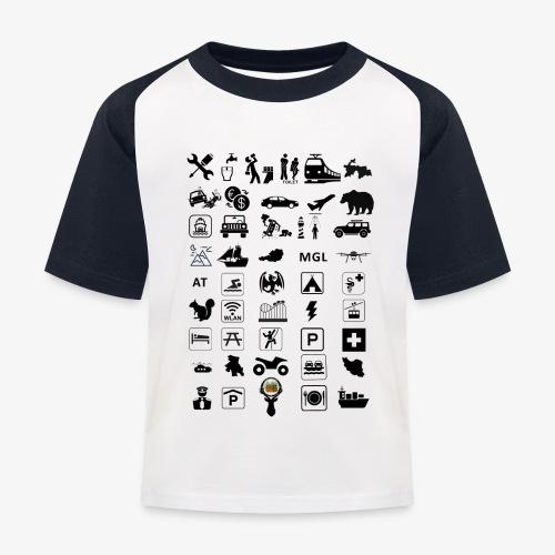 Where should I go now? - Kinder Baseball T-Shirt