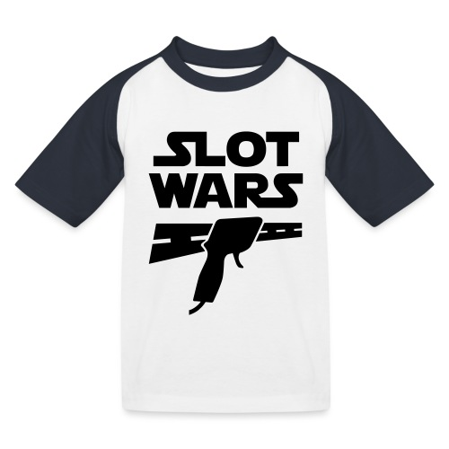 Slot Wars - Kinder Baseball T-Shirt