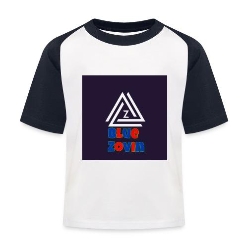 BlueZovinshirt - Kids' Baseball T-Shirt