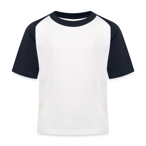 scritta per maglione png BIANCO - Maglietta da baseball per bambini