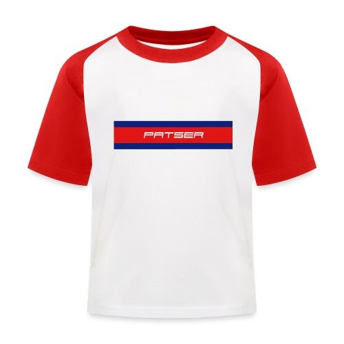 PATSER - Kinderen baseball T-shirt