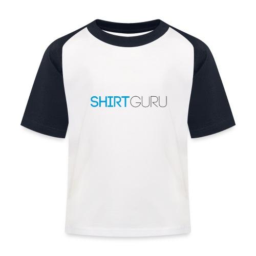 SHIRTGURU - Kinder Baseball T-Shirt