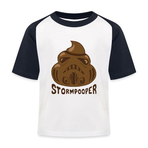 Stormpooper - Kids' Baseball T-Shirt