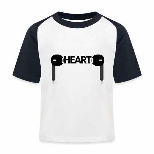 ListenToYourHeart - Koszulka bejsbolowa dziecięca