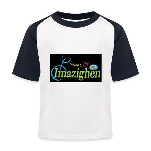 Imazighen ithran rif - Kinderen baseball T-shirt