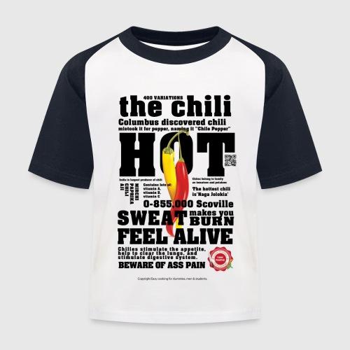 chili - Baseball T-shirt til børn