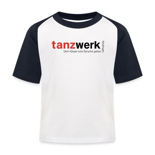 Tanzwerk - Premium Edition schwarz - Kinder Baseball T-Shirt