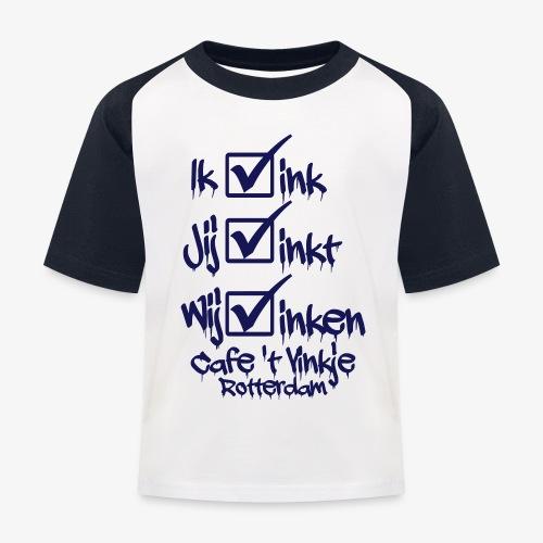 ik vink - Kinderen baseball T-shirt