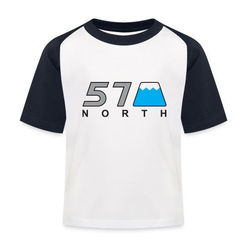 57 North - Kids' Baseball T-Shirt