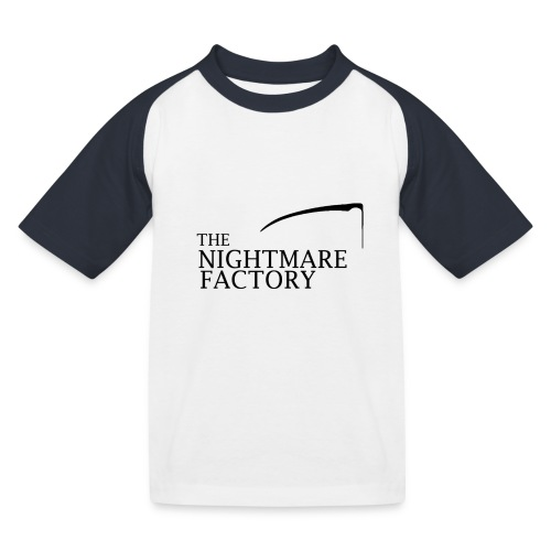 nightmare factory Nero png - Kids' Baseball T-Shirt