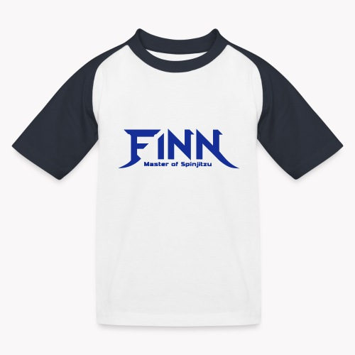 Finn - Master of Spinjitzu - Kinder Baseball T-Shirt