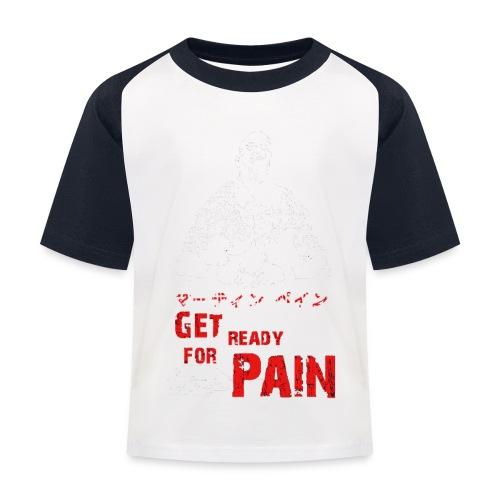 pain - Kinder Baseball T-Shirt