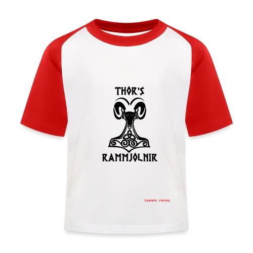THOR's-RAMMjolnir - T-shirt baseball Enfant