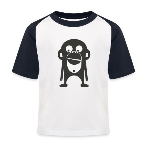 Der Bamberger Affe - Kinder Baseball T-Shirt