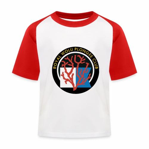 Royal Wolu Plongée Club - T-shirt baseball Enfant