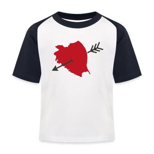 Bamberg Herzliebe - Kinder Baseball T-Shirt