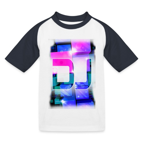 DJ by Florian VIRIOT - T-shirt baseball Enfant