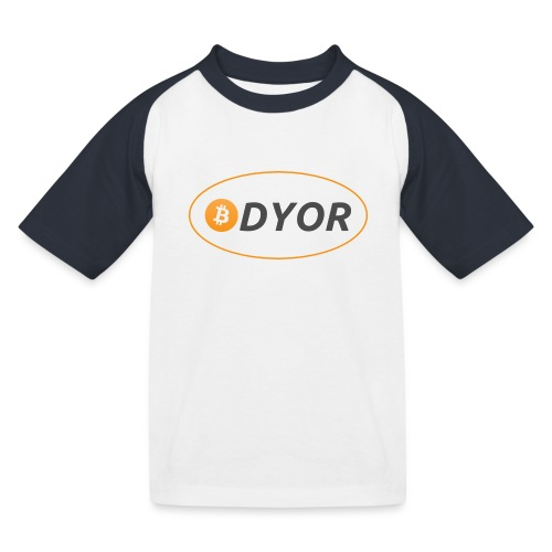 DYOR - option 2 - Kids' Baseball T-Shirt
