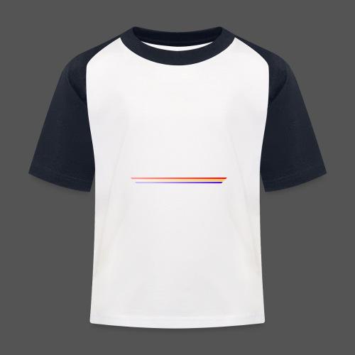 3Color STEKS™ Logo - Kinderen baseball T-shirt