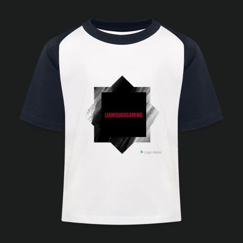 New logo t shirt - Kinderen baseball T-shirt