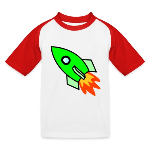neon green - Kids' Baseball T-Shirt