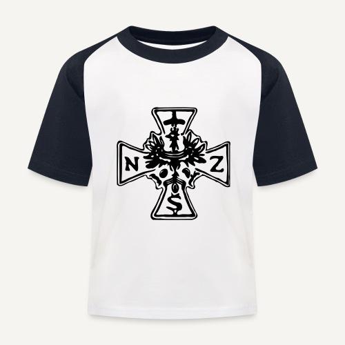 nsz1 - Koszulka bejsbolowa dziecięca