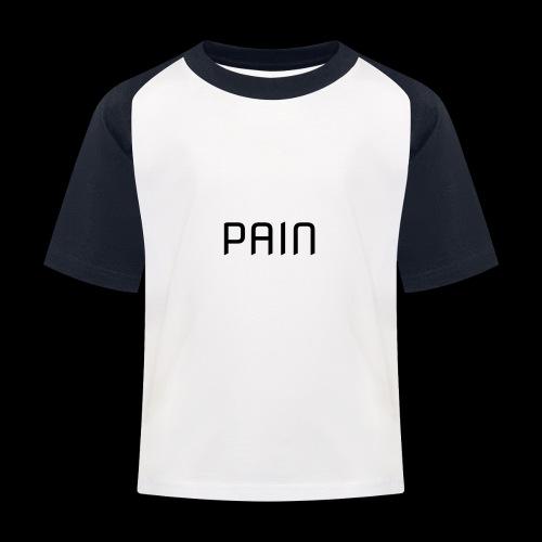 pain - Koszulka bejsbolowa dziecięca