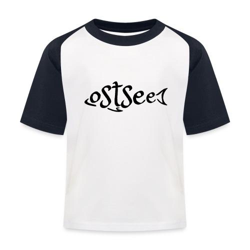 Ostsee-Fisch - Kinder Baseball T-Shirt