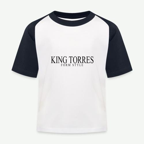 king torres - Camiseta béisbol niño