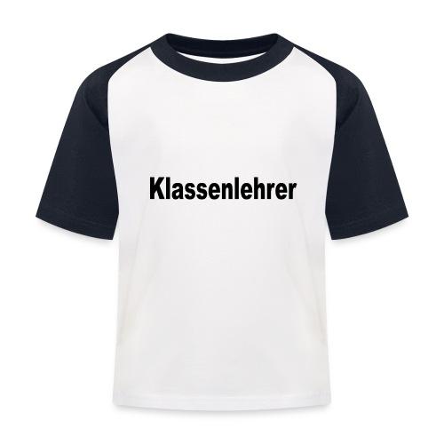 Lehrer Klassenlehrer Abi - Kinder Baseball T-Shirt