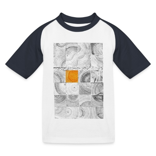 Cubes de Bois - T-shirt baseball Enfant