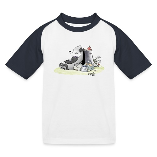 Siesta Time - Baseball-T-skjorte for barn